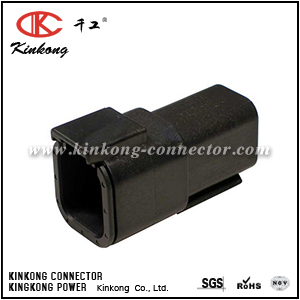 DTM04-6P-E004 ATM04-6P-BLK 6 pole male automotive connector