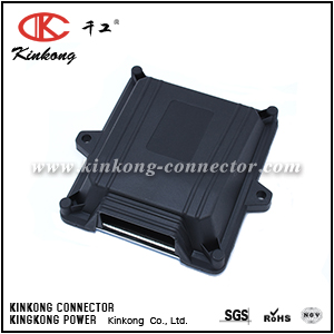 48 hole KINKONG customized silver ecu pcm Box with PCB connector CKK48-1-B