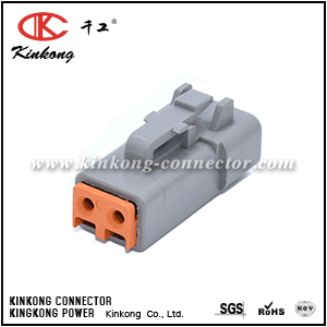 DTP06-2S ATP06-2S 2 hole female DTP wire connectors