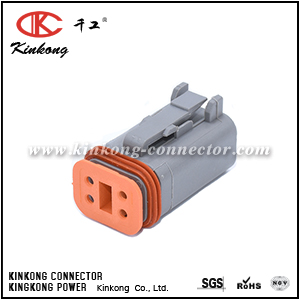 DT06-4S 4 way female automotive electrical connectors CKK3041-1.5-21