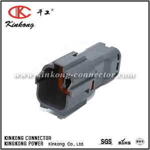 7222-7444-40 4 pin male electric wire plug CKK7041-1.8-11
