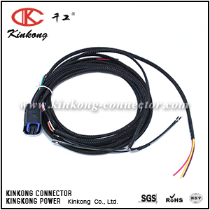 Custom electric wiring harness