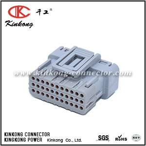 Kinkong 33 way female waterproof automotive connector CKK733A-0.7-21