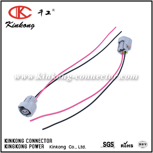 Pigtail for Toyota with 2 pin auto connection WA093