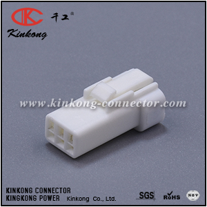 03R-JWPF-VSLE-S 3 hole waterproof cable connector  CKK7035-0.7-21