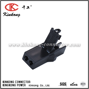 1J0 973 119 2 pin female sealed PA66 VW Audi connector
