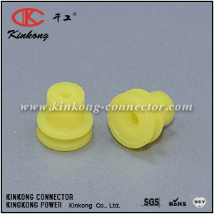 15366066 Yellow Individual Loose Round 1 Way Cable GT Seal