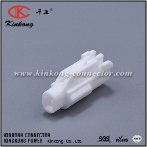 6180-1181 1 Pin Female Auto Connector And Terminal Plastic Connector Coupler CKK7011-2.0-21