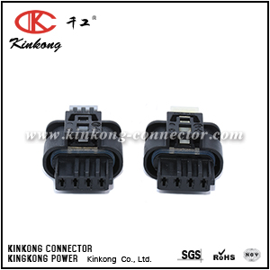 805-122-541 4 way female waterproof electrical connectors CKK7042B-1.0-21
