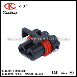 12052613 2 Way Metri-Pack 480 Sealed Female Connector Assembly Max Current 42 amps CKK7026B-4.8-21