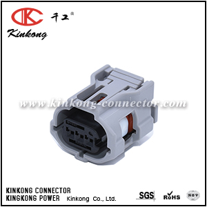 6189-1130 90980-12353 3P025WP-TS-GR-F-tr 3 hole receptacle wire connectors for Toyota CKK7031G-0.6-21