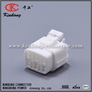 6180-6771 6 way female auto electrical connector  CKK7061-2.0-21
