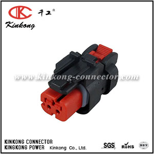 776522-1 2 hole auto female electrical automotive car connector