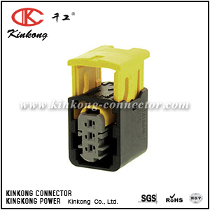 2-1418448-1 3 hole receptacle waterproof wire connector CKK7039G-1.5-21