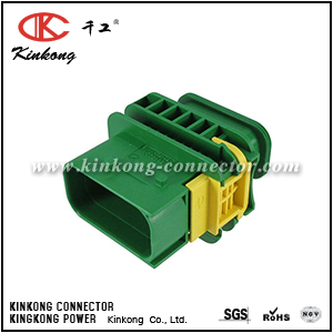 3-1564522-1 8 pole blade waterproof auto electrical connector
