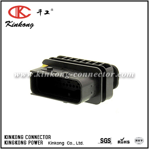 1-1564534-1 4 pin male sealed car connector