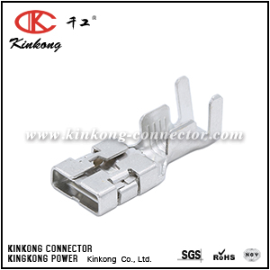 terminal for electrical connector  CKK001-9.5FS