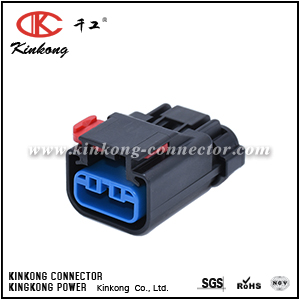 54200308 3 hole female wire connector CKK7037-2.8-21
