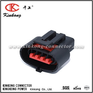 4 hole female electrical wire connector CKK7049-2.8-21