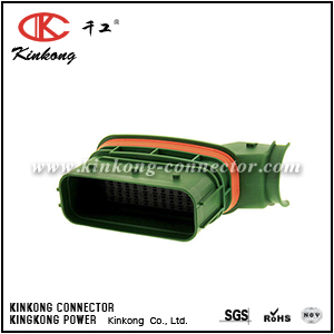 5-1718323-1 39 pin male automobile pcb connector