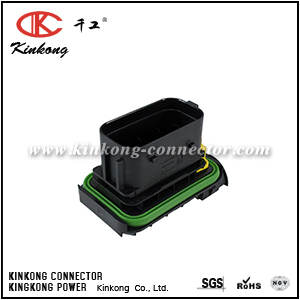 1-2112041-1 26 pin blade automobile pcb  connector