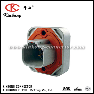 DT15-4P-G003 4 ways male waterproof auto electrical wire connectors