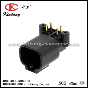 DTF13-4P-G003 4 pin DT series male sealed auto connectors