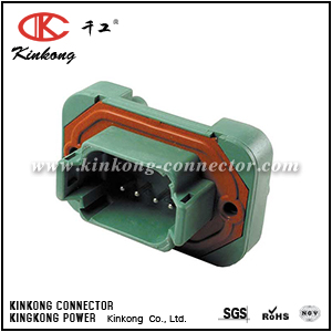 DT15-08PC 8 hole blade housing connector