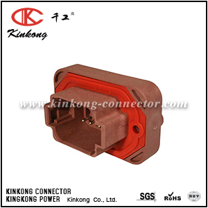 DT15-08PD 8 hole  automotive waterproof wire connector