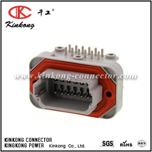 DT13-12PA 12 way male waterproof automotive connectors