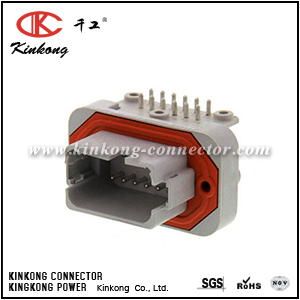 DT13-12PA-B016 12 pin blade sealed auto connector