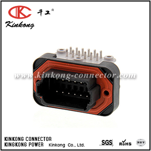 DT13-12PB 12 way blade housing automotive connector