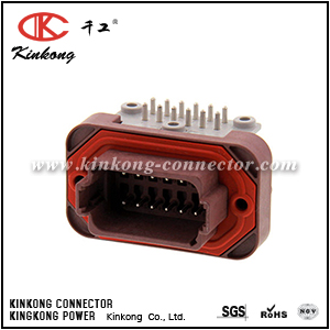 DT13-12PD 12 pole blade motorcycle connector