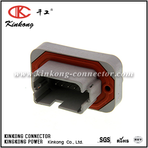 DT15-12PA-B016 12 way gray sealed electrical auto connector