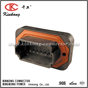 DT15-12PB 12 pins male waterproof car connector