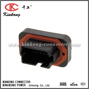 DT15-12PB-B016 12 hole male DT series sealed car connector