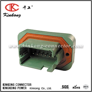 DT15-12PC-B016 12 pin male auto connector