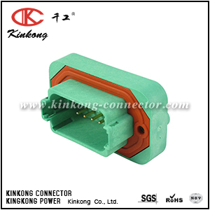 DT15-12PC-G003 12 hole male auto connector