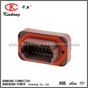 DT15-12PD 12 pin male housing auto connector