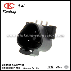 DTF13-3P 3 pin DT series male automotive connector