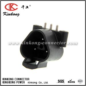 DTF13-3P-1939 3 hole waterproof blade auto connector