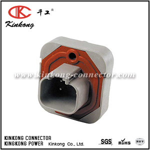 DT13-4P 4 pin male waterproof housing automotive wiring connector