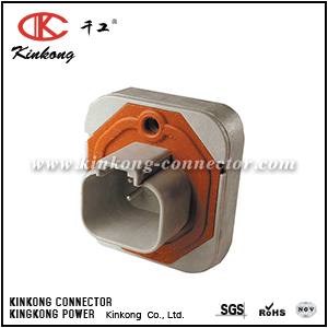 DT15-4P 4 hole blade sealed automotive electrical connector