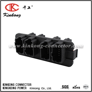 DT13-48PABCD-R015 48 pole male car electrical connector