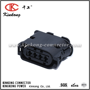 1-1718628-1 4 way female auto connector CKK70410-3.5-21