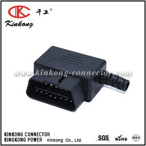 OBD2 16 pin automotive electrical connector