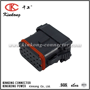 DT16-18SC-K004 18 ways receptacle auto connector