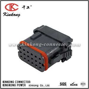 DT16-18SE-K004 18 way receptacle auto electrical connector