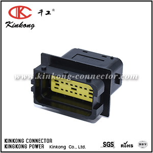 24 pin male waterproof automotive  car connector CKK724BA-1.5-2.5-11