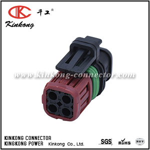 1337352-1 4 way female socket housing CKK3042-1.5-21